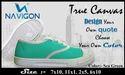 Navigon Footware Unisex Canvas Shoe