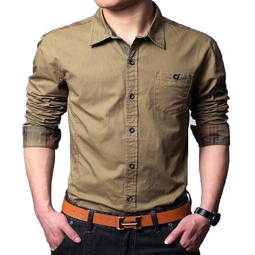 d8c890f8e59d Men s Full Sleeves Casual Shirt