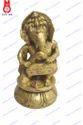 Lord Ganesh Sitting Playing Musical Set Of 6