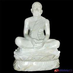 Ramkrishna Deva Marble Statue, for Exterior Decor