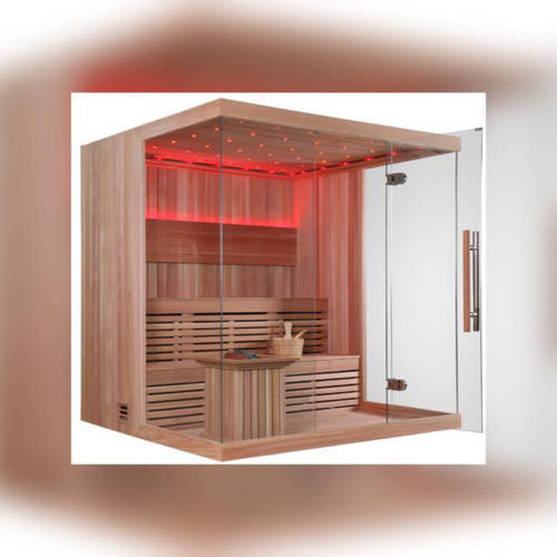 Pine Wood Sauna Bath for Domestic And Commercial
