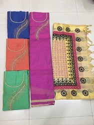 Silk Cotton Salwar Suits