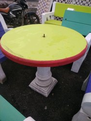 Cement Table