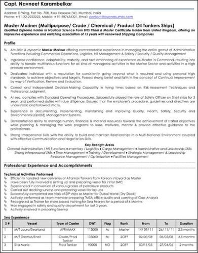Resume writing service in bangalore