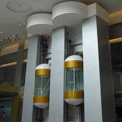 Capsule Elevator, Max Load: 8-10 persons