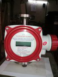 Metal Tube Rotameter with Totalizer