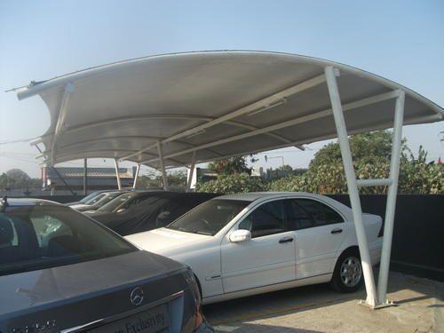Car Parking Membrane Tensile Structure
