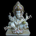 Decorative Marble Lord Ganesh Statue
