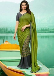 Designer Georgette Printed Saree For Womens