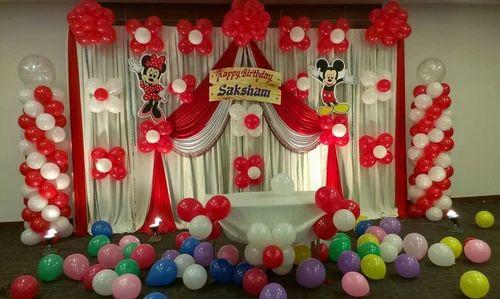 Ballon Decoration And Wedding Reception Event Management Service