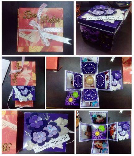 Greeting cards 3d heart card manufacturer from lucknow handmade box greeting cards m4hsunfo