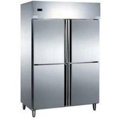 Stainless Steel 5 Four Door Freezer, Compact