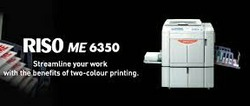 Riso ME6350 Dual Drum Digital Duplicator Copy Printer