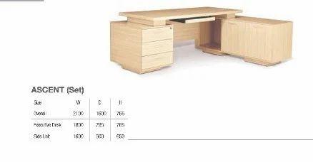 Godrej Office Furniture Table Ascent Set गदरज
