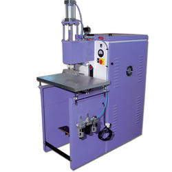 Logo cutting Single Phase High Frequency Welding Machine, Automation Grade: Manual, Electricity