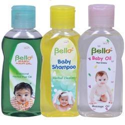 Bello Baby Hair Oil - Baby Shampoo - Baby Oil