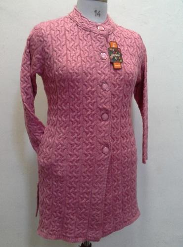 5b0b5525530613 Designer Long Ladies Sweater