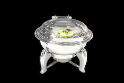 Hydraulics Round Chafing Dishes  - 3 Litres
