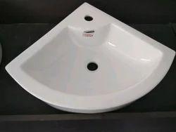 Ceramic Corner Basin