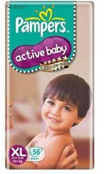 Pampers Active Baby Diapers Extra Large
