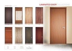 Vineer Door With Solid Wood Frame