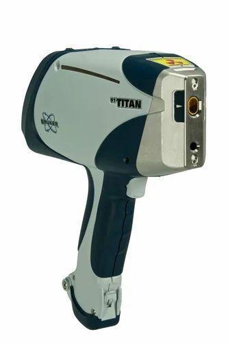 Portable Handheld Bruker S1 Titan Gold Testing Machine