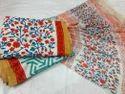 Cotton Floral Suit