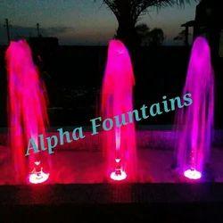 Pink Foaming Fountain