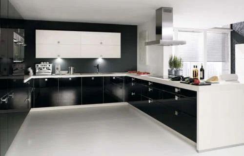 Kitchen Design C Shape modular kitchen - parallel modular kitchen service provider from