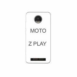 Plastic Moto Z Play Mobile Cover