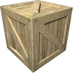 Square Natural Wooden Boxes