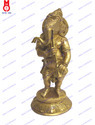 Lord Ganesh Standing Playing Musical Set Of 5 Pcs