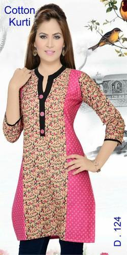 Large Cotton Ladies Kurtis