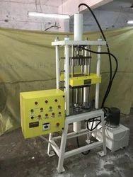 Hydraulic Sambrani Cup Dhoop Making Machine