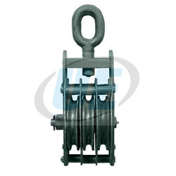 Triple Sheave Wire Rope Pulley Block