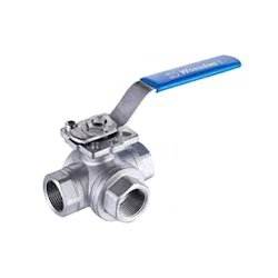 Standard Steel Ball Valve 3 Way