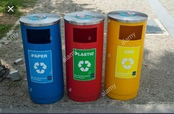 Outdoor dustbin