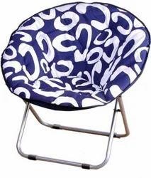 Cuba Half Moon Chair   Blue, Designer Kursi, डिजाइनर कुर्सी, डिजाइनर चेयर    MCT Deluxe Honour, Gurgaon | ID: 12844689197