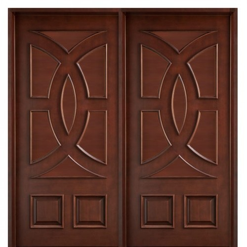Teak Wood Double Door