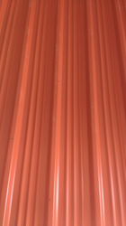 Red Coated Roofing Sheets