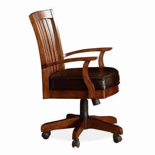 office wooden chair क र य लय क लकड क