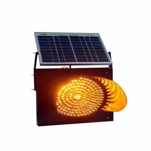 Solar Traffic Blinker Solar Sunflower Traffic Blinker