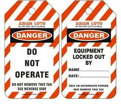 Multi Color Safety Tags