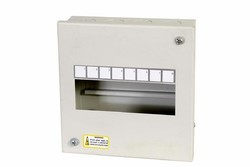 Single Door Mild Steel (MS) Spn MCB Distribution Box, For Electric Fittings, 26mm X 25mm X 152mm