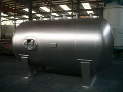 Stainless Steel Cylindrical Vessels, Capacity: >10000 L