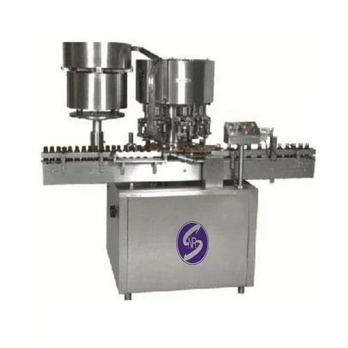 Vial Inner Plug Pressing & Capping Machine, Model Number/Name: SNR VBCM