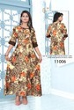 Rayon All Over Print Kurti