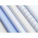 Cotton Blend Regular Wear Striped Shirt Fabric