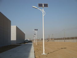 9 LED Solar Street Light
