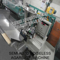 Semi Auto Noiseless Agarbatti Making Machine